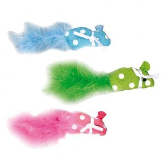 Flamingo Игрушка для кошек Мышка с кошачьей мятой