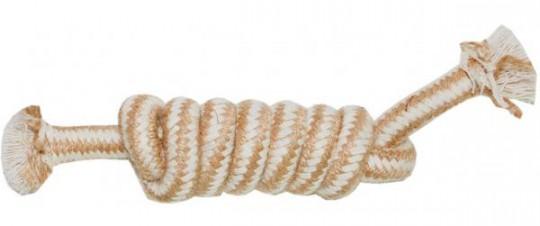 N1Игрушка для собак Грейфер джутовый плетеный 20см