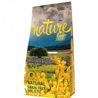 Nature 12кг LAMB GRAIN FREE HOLISTIC Сухой беззерновой корм для собак с ягненком и картофелем