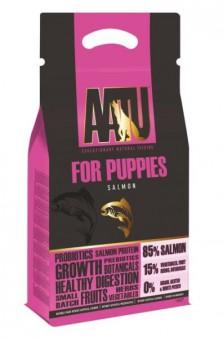 AATU 1,5 кг Dog Puppy Salmon Беззерновой сухой корм для щенков Лосось