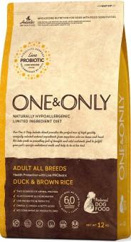 ONE&ONLY 3кг Duck & Rice Adult All Breeds, утка с рисом для собак всех пород