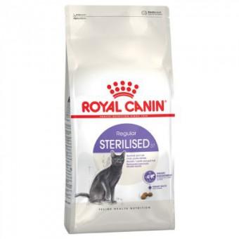 Royal Canin 2кг Sterilised Сухой корм для кастрированных котов и стерилизованных кошек