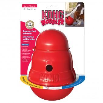 Kong игрушка интерактивная для средних собак Wobbler
