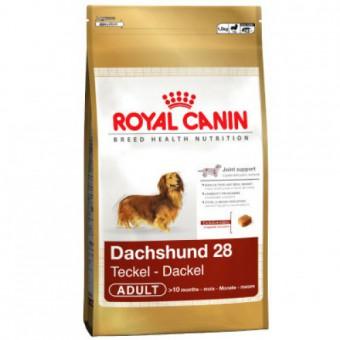 Royal Canin 1,5кг Dachshund 28 adult Для собак породы такса старше 10 месяцев
