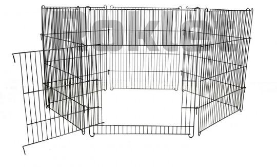 Propet Вольер комплект 6 секций 60*70 см ченый, вес 7кг