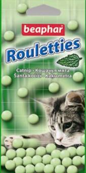 Beaphar Rouletties 80шт Лакомство для кошек с кошачьей мятой
