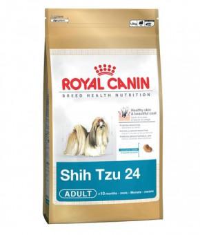 Royal Canin 1,5кг Shih tzu 24 adult Для собак породы ши-тцу старше 10 месяцев