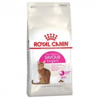 Royal canin 0,4кг Exigent  savour sensation Сухой корм для привередливых кошек