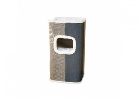 TRIXIE Домик-башня для кошки Jorge, 78 см, серый/антрацит