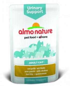 6шт Almo Nature 70гр паучи с курицей для профилактики мочекаменной болезни у кошек, Functional - Urinary Support with Chicken