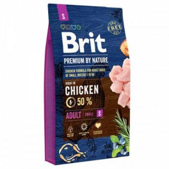 Brit Premium 8кг сухой корм для взрослых собак мелких пород