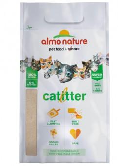 Almo Nature 2,27кг Cat Litter 100% Натуральный биоразлагаемый комкующийся наполнитель состав: 100% маниока