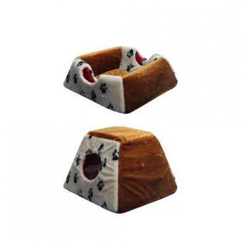 ПУШОК Домик 35x35см для кошек и собак Трансформер №1