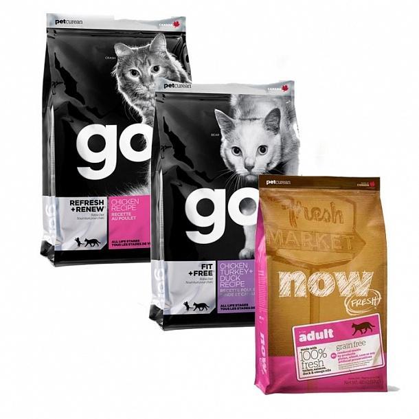 Сухой корм для котят go
