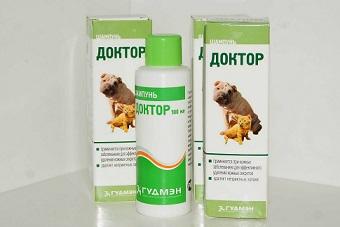 Шампунь доктор для собак