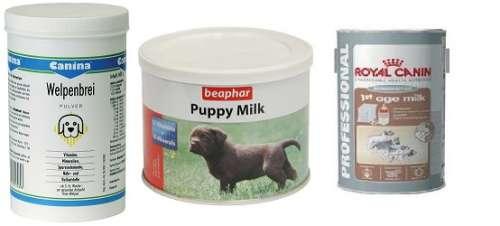 Виды заменителей молока